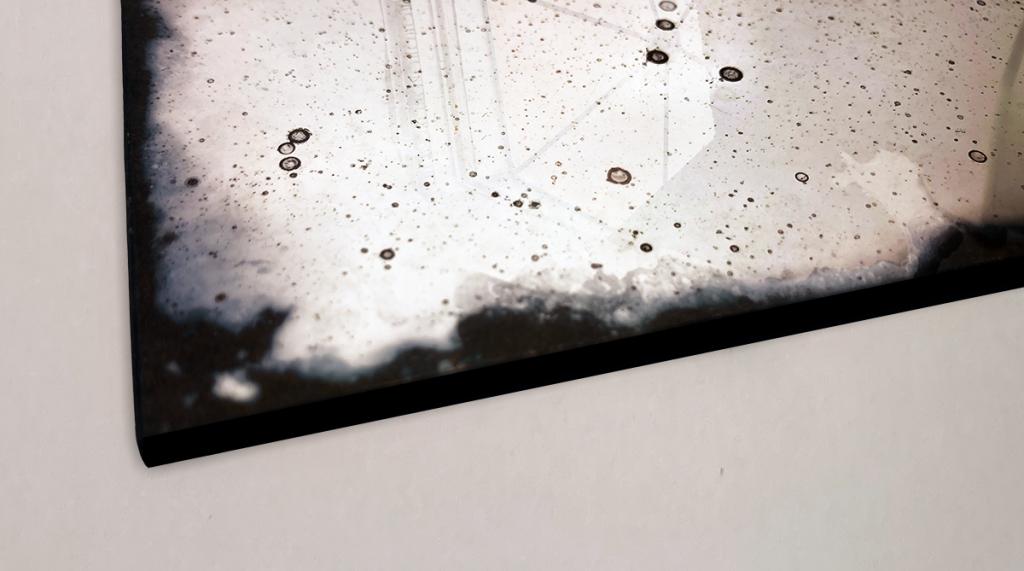 Specchio a bagnatura d'argento