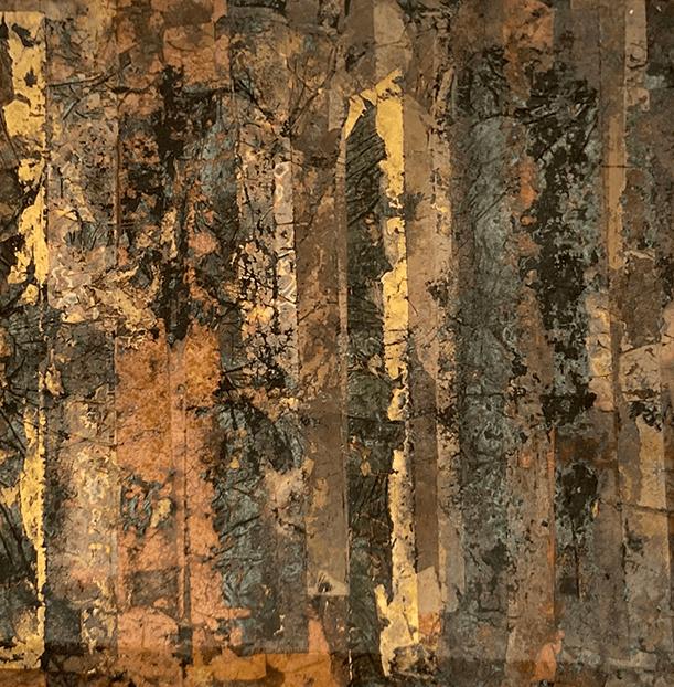 Stripes oxidised